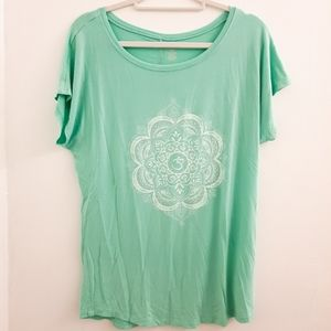 Mint Green Gaiam Yoga Top